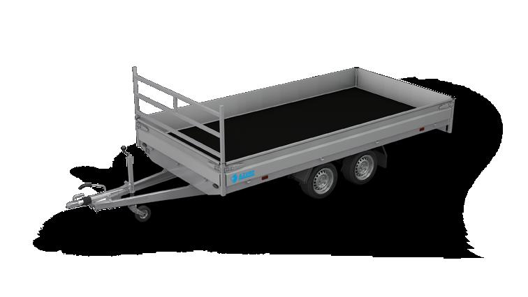 Azure H-2 - Tandemasser open aanhangwagen of plateauwagen