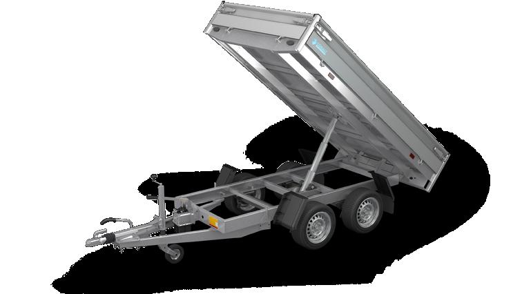 Cobalt - Kipper aanhangwagen