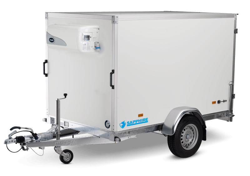 SAPPHIRE L-1 - SINGLE-AXLE REFRIGERATED TRAILER